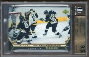 BGS-9-5-Gem-Mint-SIDNEY-CROSBY-2005-06-Upper-Deck-ROOKIE-CLASS-3x5-ROOKIE-Card