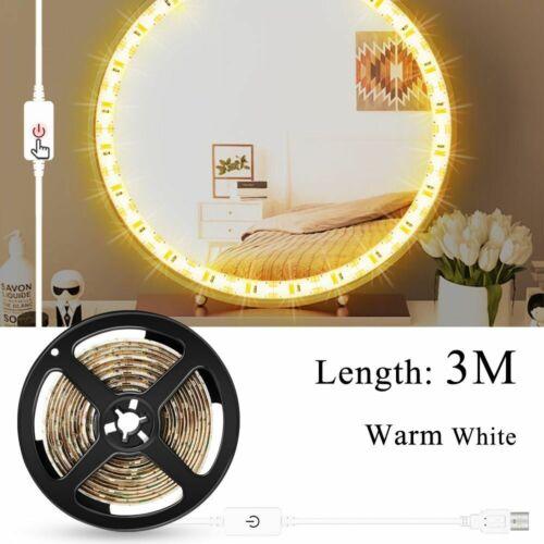 Wall Light Lamp Makeup Mirror LED Light Bulbs USB Hollywood Style Dressing Table