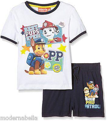 Paw Patrol Bambino Maglietta e Pantaloncini