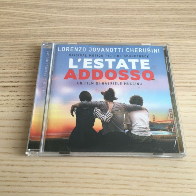 Jovanotti - L'Estate Addosso - CD Album Soundtrack - 2016 Universal