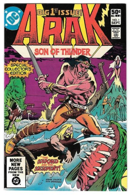 *Arak / Son of Thunder #1 (September 1981, DC Comics)