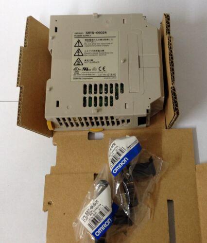 X1 Omron s8ts-06024-e1 fuente de alimentación 100-240 Vca Entrada 24vcc 2,5 a la salida de