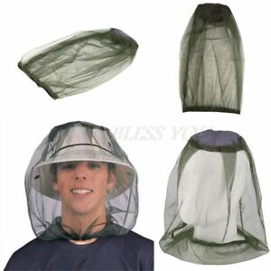 Camping-Protector-Hat-Face-Mesh-Mosquito-Head-Insect-HOT-Travel-Mosquito-Net