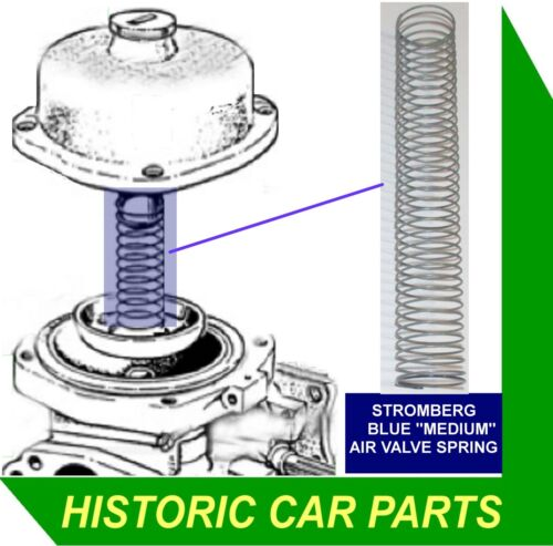PISTON SPRING for STROMBERG 175CD-1 Carb on Humber Super Snipe IMPERIAL 1965-67