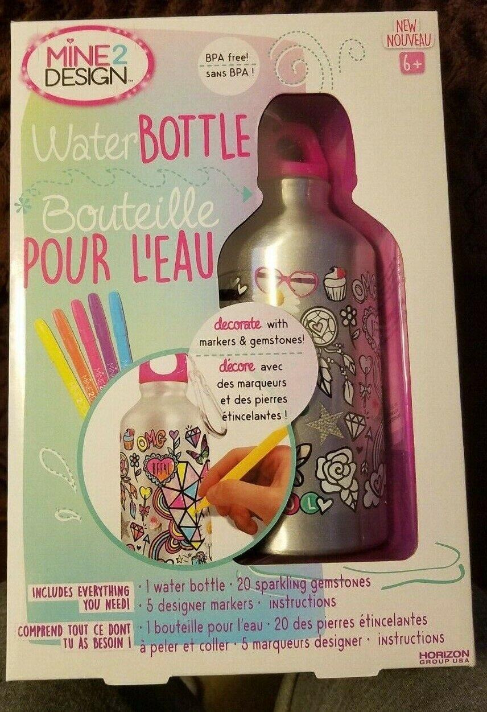 Lot of 50 Mine 2 Design Water Bottle