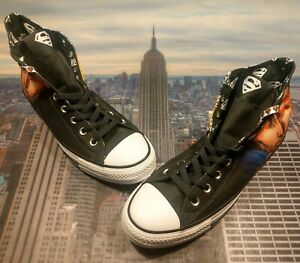 Details about Converse Chuck Taylor All Star Hi High Top DC Comics Superman Size 11 161389C