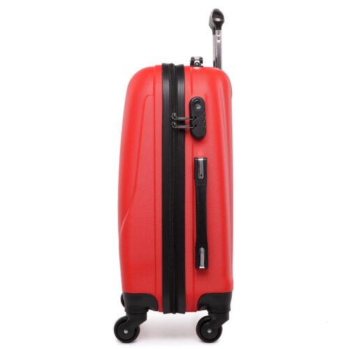 KONO Hard Shell Cabin 20/'/' Suitcase Luggage Spinner Lightweight Travel Hand Bag