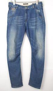 MAISON SCOTCH Women Slim Straight Leg Stretch Jeans Size W30 L34