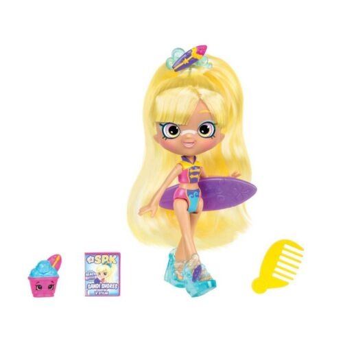 Shopkins shoppies Beach style Sandi Rives Surfer doll