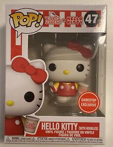Funko Pop! Nissin Cup Noodles Gamestop Exclusive - Hello Kitty W/ Noodles #47