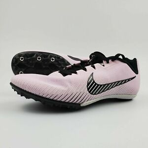 Pink White Track Spikes AH1021-601