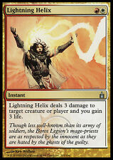 MTG LIGHTNING HELIX SPANISH POOR - SPIRALE FULMINANTE - RAV - MAGIC