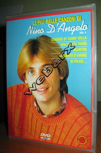 LE PIU' BELLE CANZONI DI NINO D'ANGELO VOLUME 4 DVD NUOVO SIGILLATO **