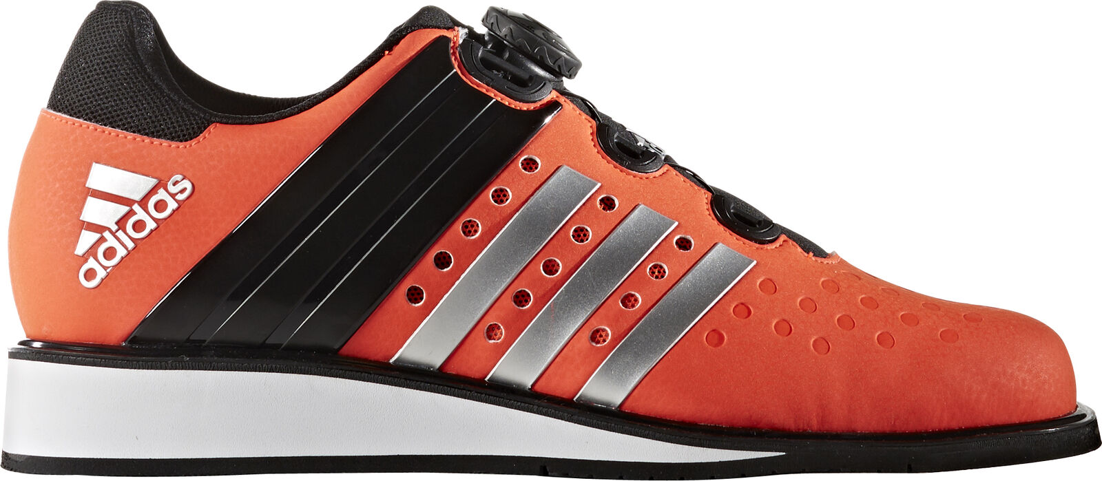 adidas Drehkraft Mens Weightlifting Shoes Red Bodybuilding Gym Lift Trainers