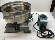 Hendricks Engineering 6955 12 Vibratory Bowl Feeder Withstaco Speed Control 115v