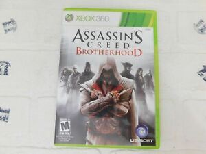 Assassin-039-s-Creed-Brotherhood-Microsoft-Xbox-360-2010-Cleaned-Tested