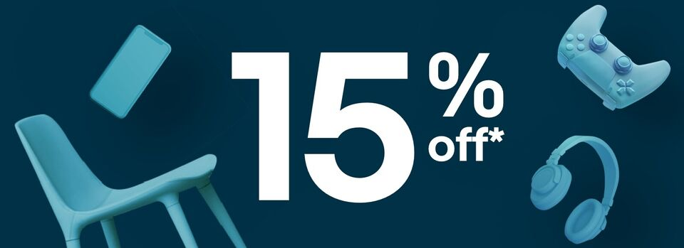 Código POPULAR15 - 15% off* em categorias selecionadas