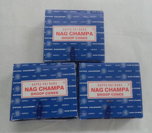 1 2 3 4 5 6 8 9 12 U Choose Satya Sai Nag Champa Original Incense Cones 12 Pack