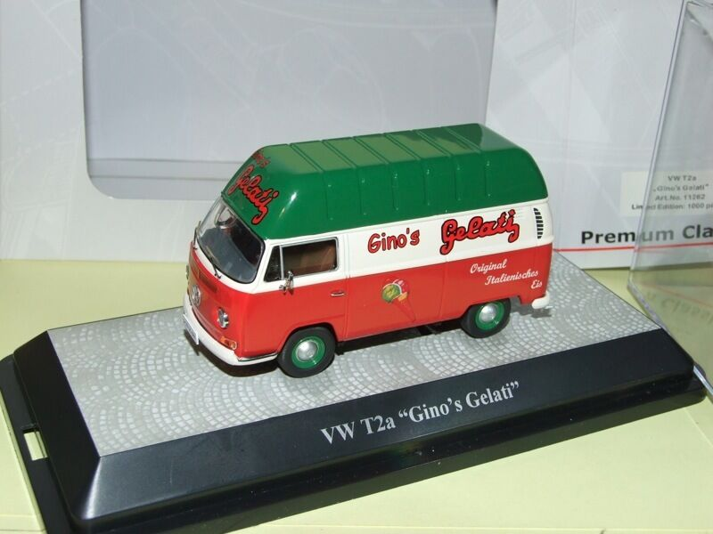 VW COMBI T2a GINO GELATI Marchand de Glace PREMIUM CLASSIXXs