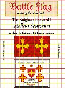Battle-Flag-Baron-William-Latimer-flag-and-decal-set-Early-Medieval-28mm