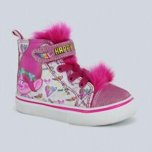 TROLLS High Top Sneakers Pink | eBay