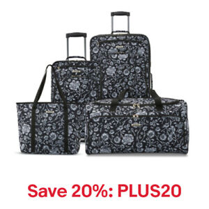 American Tourister Riverbend 4 Piece Set, 20% off: PLUS20