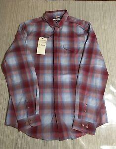Ben-Sherman-Mens-Button-Down-Shirt-Size-Medium