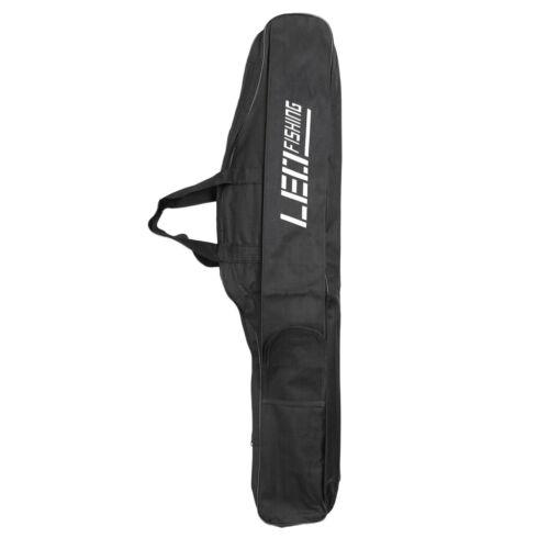 Waterproof Fishing Rod Bag Pole Carry Backpack Folding Shoulder Case Storage
