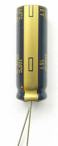 3300uf 16v 105c LOW ESR  size 35mmx12.5mm  long life Panasonic EEUFC1C332