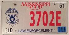 POLICE OFFICER LAW ENFORCEMENT license Plate Badge Government Thin Blue Line