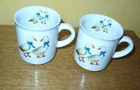 2 Becher - Kaffeebecher - Tasse -  mit Gänse, Gans Sandra Rich