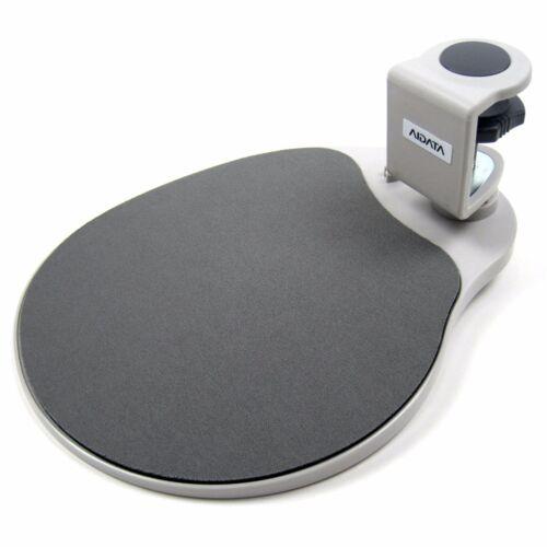 Aidata Under Desk Mouse Platform Ergonomic Swivel Mouse Pad Desktop Accessory