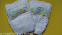 Reborn Pack Of 2 Pampers Micro Size Nappies