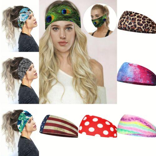 Women/'s Yoga Running Headbands Sports Workout Hair Bands Soulvation Headbands