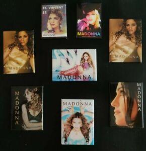 Madonna-Refrigerator-Locker-MAGNETS-set-of-8
