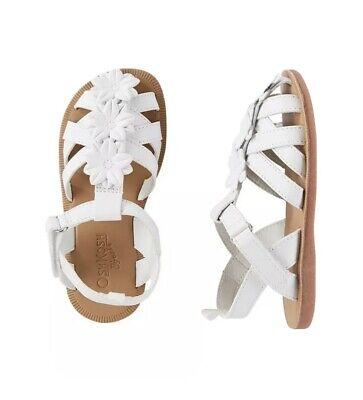 Hana White Sandals, Size