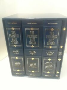 The-Prophets-Have-Spoken-Volumes-1-3-by-Eric-D-Bateman-LDS-HARDCOVER-BOOKS