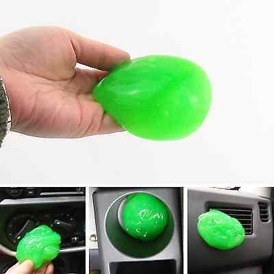 Car Air Outlet A/C Vent Interior Trim Panel Dashboard Super Clean Gel Glue Green