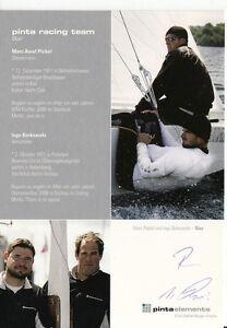 Ingo Borowski TOP AK Original Signiert Segeln +A37666