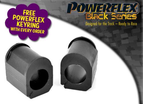 RENAULTSPORT CLIO 172//182 POWERFLEX BLACK FRONT ARB BUSHES 23mm PFF60-202-23BLK