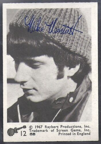 A/&BC-MONKEES -#12 QUALITY CARD!!! BLACK /& WHITE
