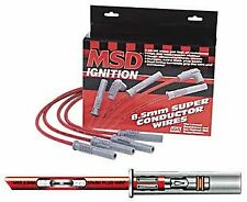 Msd 31223 Super Conductor Universal Spark Plug Performance Wire Set 85mm
