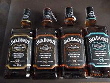 Jack Daniels-Master Distiller Serie, 1+2+3 + 4  je 1,0 Liter 43% Vol. Alc.