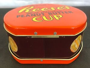 REESE-039-S-Milk-Chocolate-Peanut-Butter-Cup-Metal-Tin-Lunch-Box-Mini-Lunchbox-Round