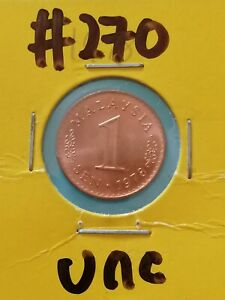 1 Cent Malaysia Coin 1978 (UNC) #270
