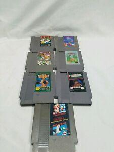 NES-Nintendo-Game-Lot-7-super-Mario-bros-duck-hunt-tetris-ring-king-amp-more