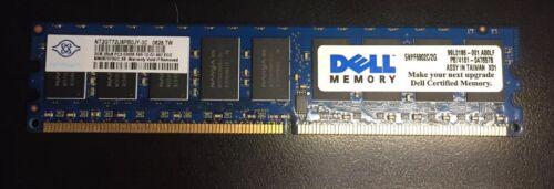 Dell 2GB PC2-5300 DDR2-667MHz ECC CL5 Memory SNPF6802C//2G