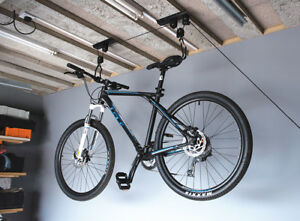 Lift Hang Cycle Bicycle Garage Shed
