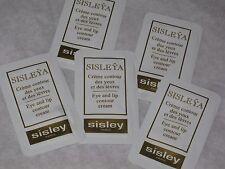 5 SISLEY Sisleya Eye And Lip Contour Cream  SAMPLE NEW FRESH LOT 5 pc