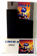 Adventures of  Lolo 2 with Manual & Sleeve - Nintendo NES - Tested
